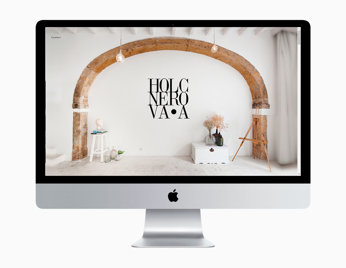 Atelier Holcnerova Website Development